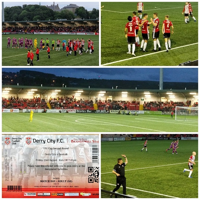 Groundhopping, Nordirland, Irland, Fussball, Derry City FC, Dundalk FC, #ElfsportOnTour