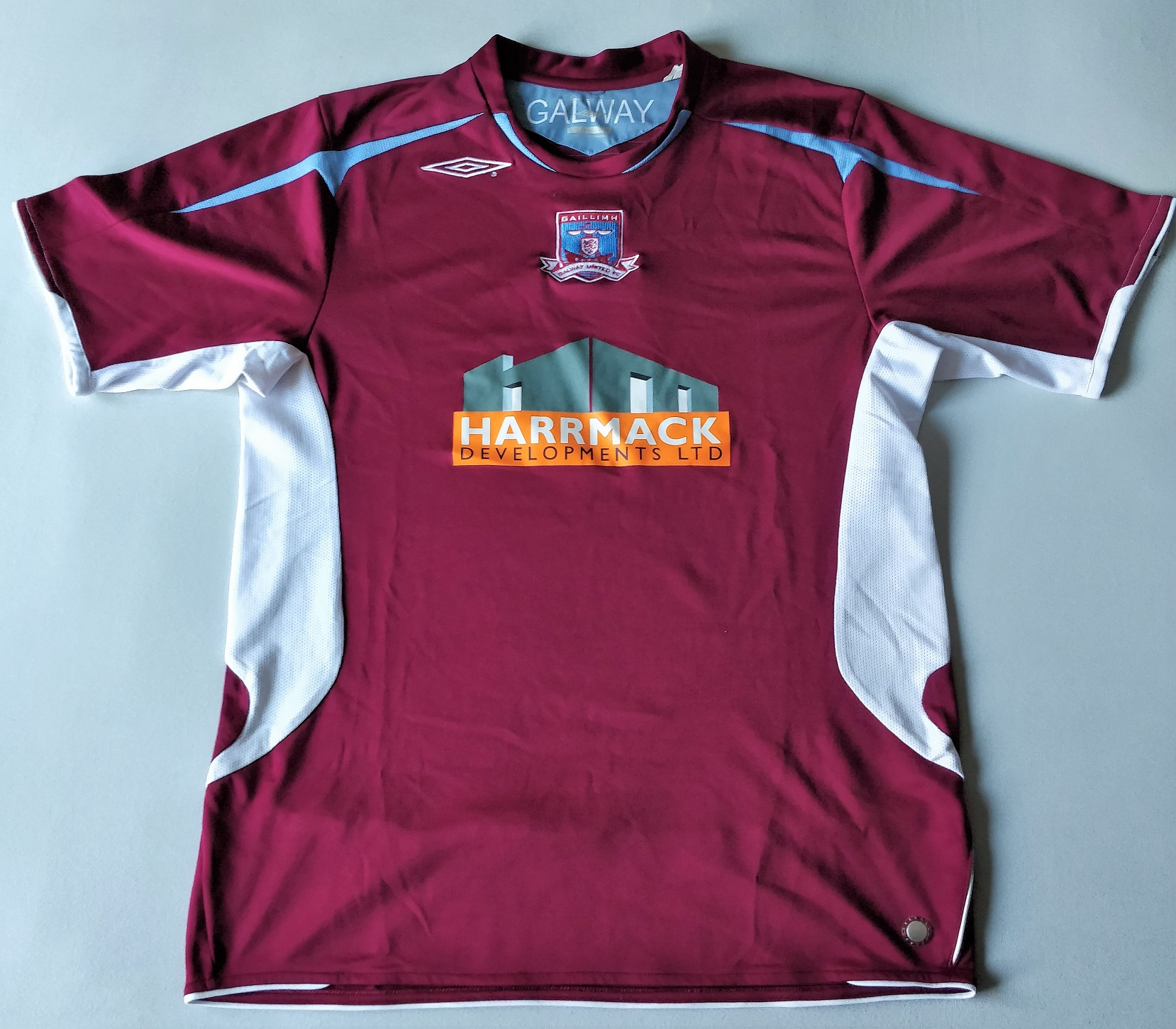 Galway United FC, Galway Rovers, Leibchen, Shirt, Robbie Williams, Eamonn Deacy, #ShirtVitrineElfsport