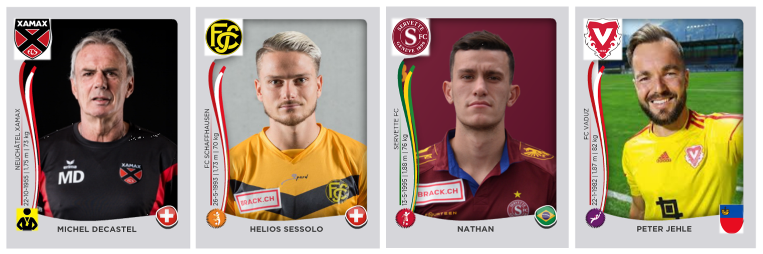 Schweiz, Challenge League 2017/18, 